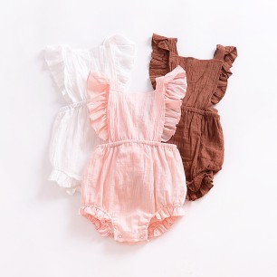 Newborn-Baby-Clothes-Infant-Girls-Summer-Linen-Romper-Kids-Cotton-Ruffle-Bubble-Romper-Baby-Jumpsuit-Clothing